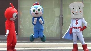 ブログも見てね。http://fanblogs.jp/anpanmanayana/archive/198/0 ニンニンジャーもあるよ。 http://fanblogs.jp/anpanmanayana/archive/265/0 今回の出演キャラは ...
