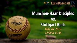 BASEBALL BUNDESLIGA: München-Haar Disciples vs. Stuttgart Reds