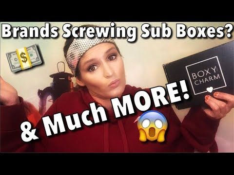 Brands Screwing Sub Boxes// BoxyCharm October 2019 thumbnail