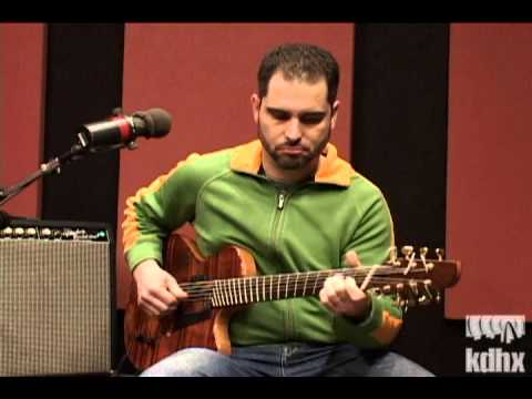 """Charlie Hunter """"Untitled Improvisation #1"""" Live at KDHX 1/22/09"""