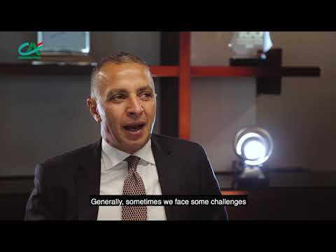 Ahmed El Sewedy and his experience with Crédit Agricole!
