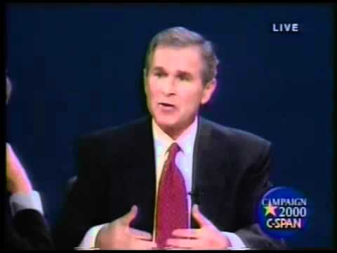 George Bush Foreign Policy in 2000 Presidential Campaign.
