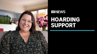 Artist using her work and life experience to break down hoarding stigma | ABC News