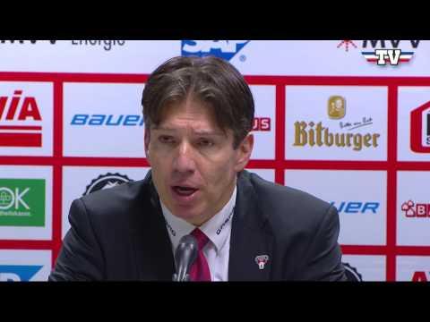 Pressekonferenz: Adler Mannheim - Eisbären Berlin