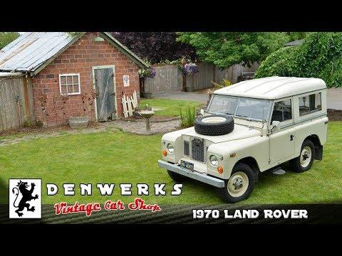 1970 Land Rover 88 Series II2 Survivor DENWERKS - BRING A TRAILER AUCTIONS
