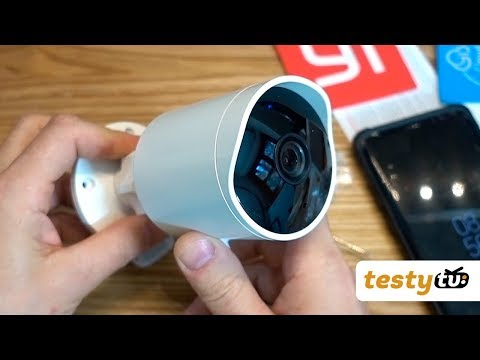 Chiny: Xiaomi YI Outdoor Camera 1080p IP65 - kamera zewnętrzna