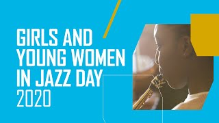 The Jazz chat | Trinity Laban Girls and Young Women in Jazz Day 2020