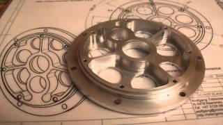 moteur wt2527-7, 7 cylindres en étoile, radial model engine