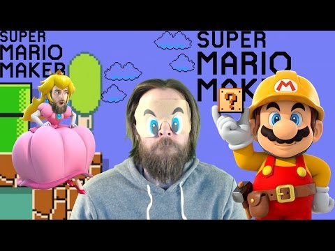 100 Mario Challenge BLINDFOLDED [SUPER MARIO MAKER]