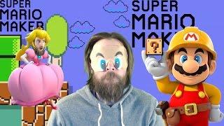 100 Mario Blindfolded Challenge - Super Mario Maker