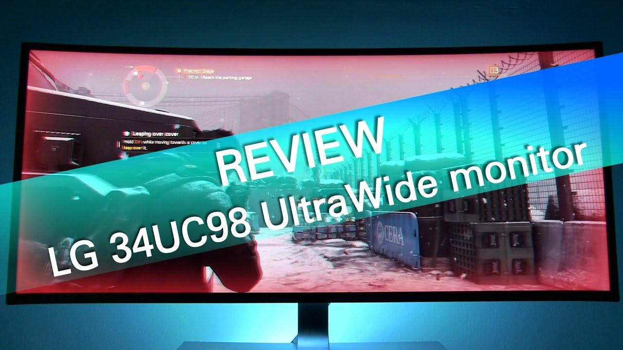 LG 34UC98 UltraWide 1440p 34-inch monitor – review – HD Televizija