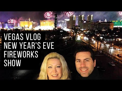 Vegas Vlog - New Year's Eve Fireworks Show Over The Vegas Strip - 2 Views From Vegas Best Ideas