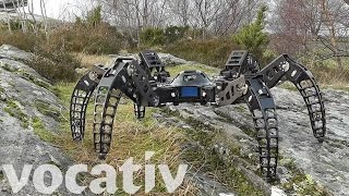 This Six-Legged Robot Is Inspired By Tarantulas