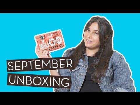 September Unboxing & Giveaway (Closed) | Be A Goal…}