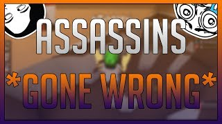 ROBLOX - Assassin Killing Game *GONE WRONG*