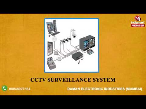 Security and CCTV Surveillance System By Daman Electronic Industries, Mumbai