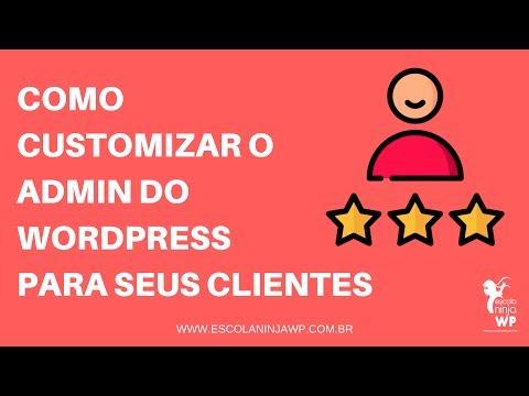 Customizar o Admin do WordPress
