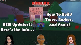 Roblox - Lumber Tycoon 2 - Building Trees and Bushes Plus New Update Info 1 Hr Special