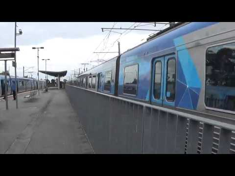 Trains at Cranbourne