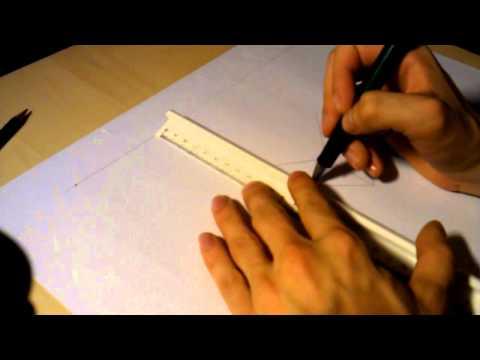 Tutorial Zeichnen lernen – 2 Fluchtpunkt Perspektive