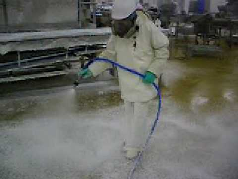 Cleaning in Food Factories