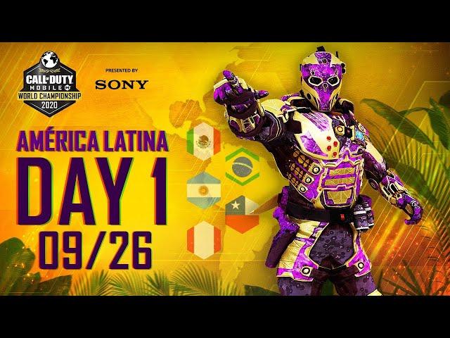 Dia 1 Campeonato Mundial de Call of Duty: Mobile 2020 - Eliminatórias Regionais da América Latina