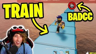 ASIMO3089 BADCC BREAKING THE TRAIN *PART 2!* (Roblox Jailbreak w/MyUsernamesThis)