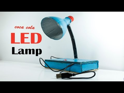 DIY | How to Table Lamp making homemade | Easy Table Lamp making by COCA COLA bottle DIY