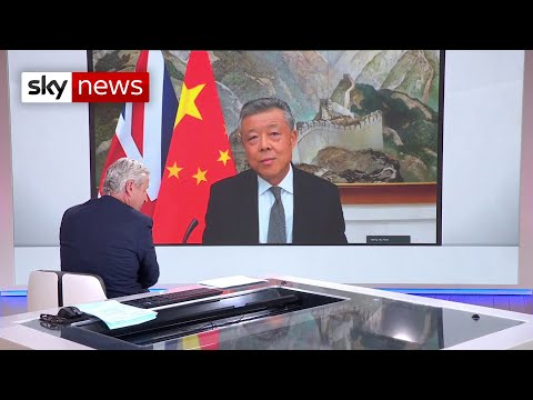 China's Ambassador to UK: 'China is the victim'