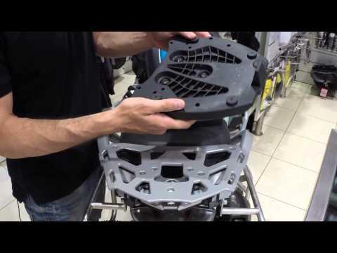 SW Motech ALU RACK review by MotoRAID (Greek)