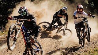 Экстремальное вождение на велосипеде в горах