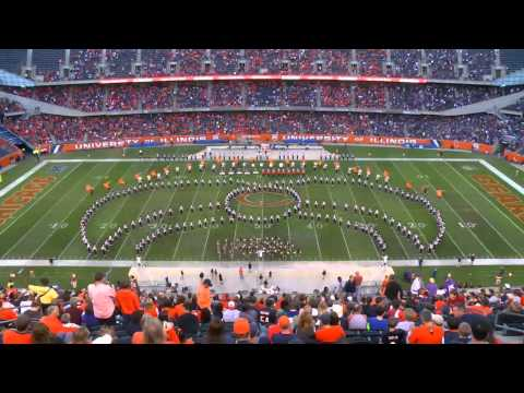 Marching Illini Halftime at Soldier Field:  Music of Chicago | September 14, 2013