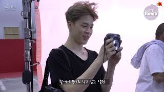 [BANGTAN BOMB] Memory squirrel Jimin showing off acorn - BTS (방탄소년단)