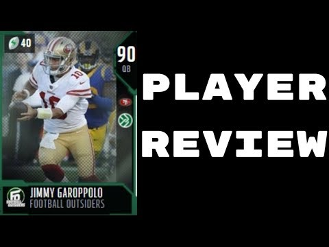 Football Outsiders Jimmy Garoppolo | Player Review | Madden 18 Ultimate Team Gameplay