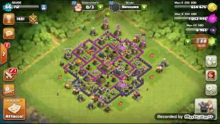 Primo video del canale su clash of clans