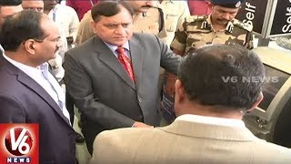 CISF DG Launches Express Security Check Facility At Hyderabad Airport | V6 News