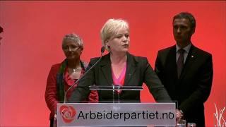 Kristin Halvorsen - tale på Aps landsmøte