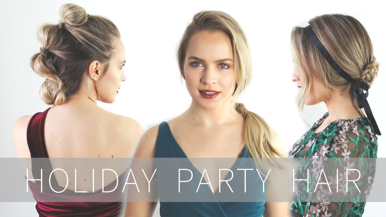 2019 year looks- 7 holiday for hairstyles parties