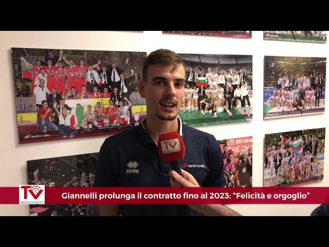 Giannelli prolunga il contratto sino al 2023: