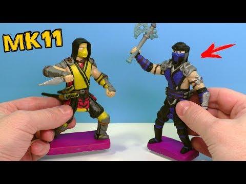 ЛЕПИМ САБ ЗИРО из игры Mortal Kombat 11