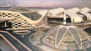 MADINA INTERNATIONAL AIRPORT 2010 3D ANIMATION
