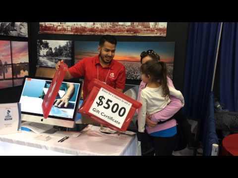 Austin Home & Garden Show - Canvas Printing - $500 Winner