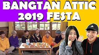 BTS FESTA 2019 REACTION!