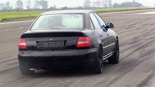 1000HP Audi S4 B5 - INSANE 0-299 km/h ACCELERATION!
