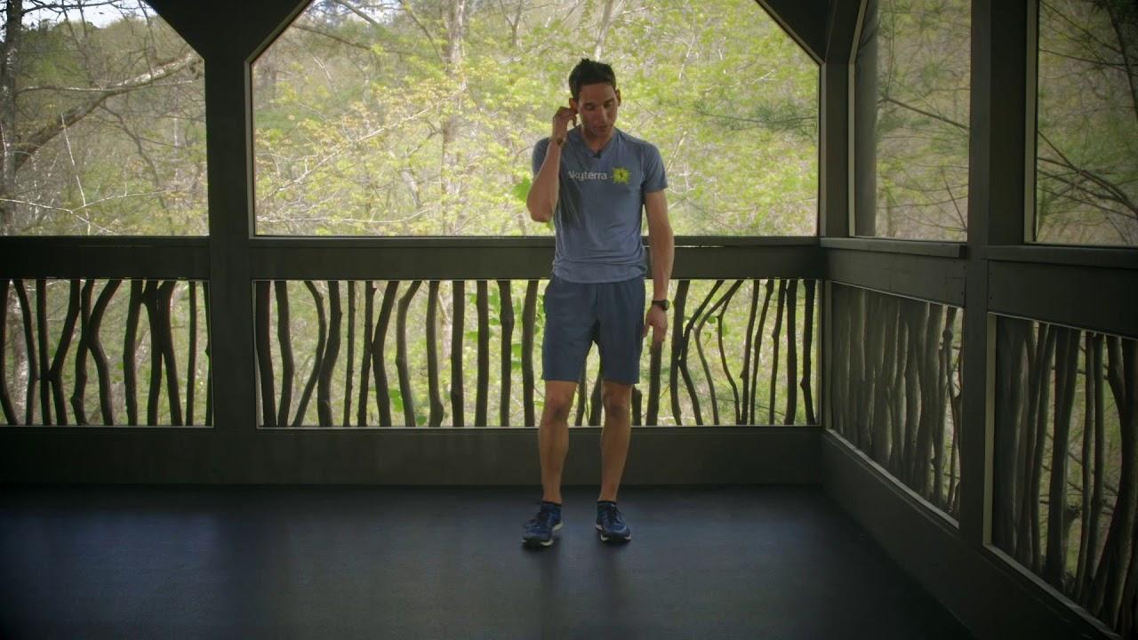 Lean: No Equipment Air Squats & Planks