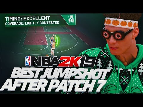 BEST JUMPSHOT IN NBA 2K19 AFTER PATCH 7! NEVER MISS AGAIN!