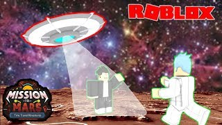 TEMEN WE KIDNAPPED ALIENS | MISSION TO MARS-TIME TRAVEL ADVENTURES ROBLOX INDONESIA