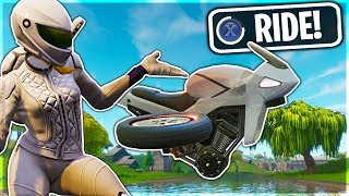 WHITEOUT SKIN Can DRIVE in Fortnite Battle Royale!?