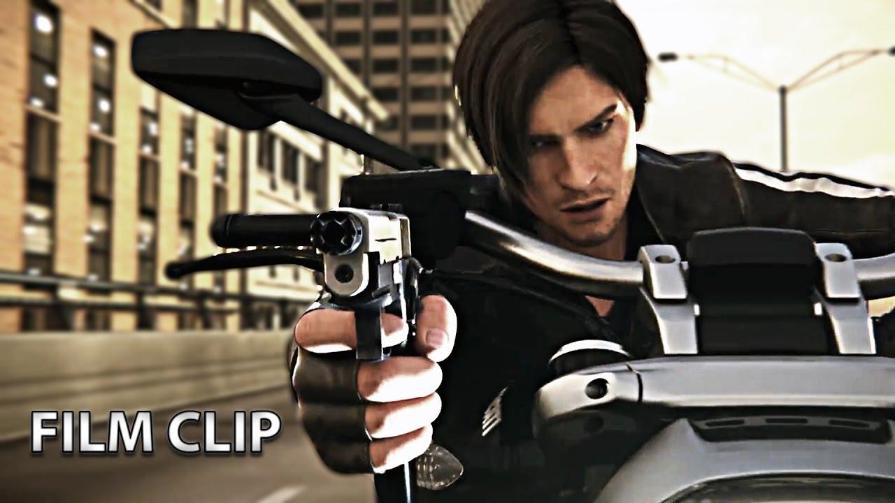 Resident Evil Vendetta Dog Chase Film Clip Youtube