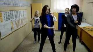 Учим танец на флешмоб вместе с Наговицынкой